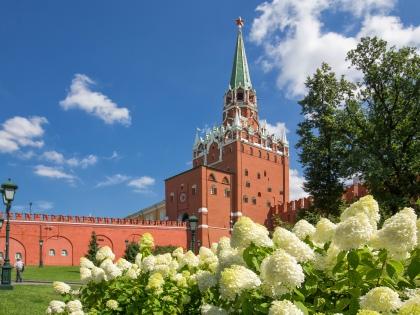 Можно устроить себе семейную прогулку по Москве, изучая все самые красивые и важные для города места // Global Look Press