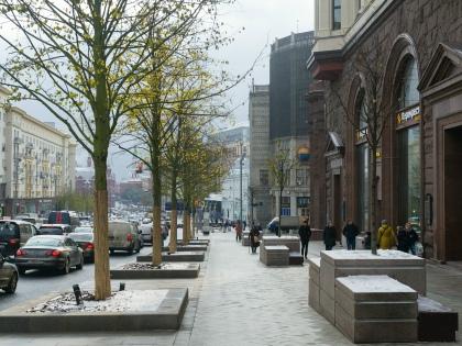 В прошлом году была перерыта из-за ремонта вся Тверская улица // Global Look Press