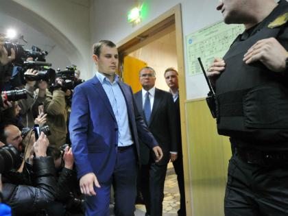Экс-министр Алексей Улюкаев в суде // Global Look Press