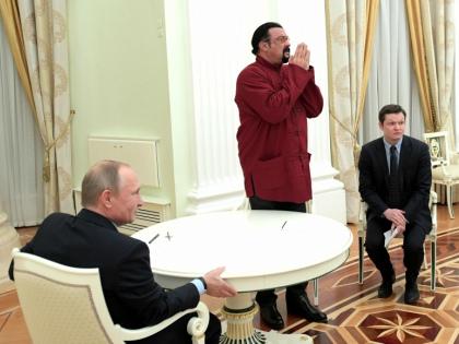 Стивен Сигал вступает в российское гражданство // Global Look Press