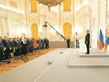 Выступление Путина некоторым показалось скучным // Global Look Press