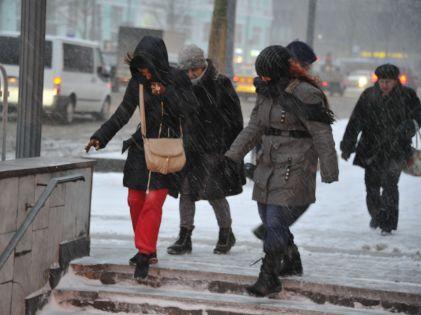 В праздники москвичам пообещали сырую и слякотную погоду // Global Look Press
