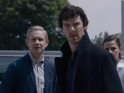 «Би-би-си» и Первый канал проводят расследование о воровстве последней серии сериала «Шерлок» // Global Look Press