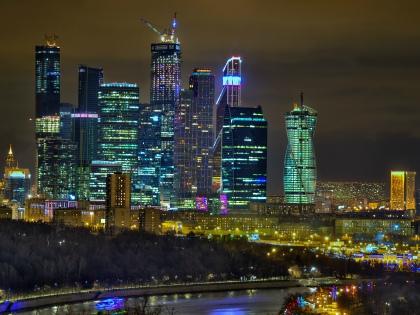 В Москве и ночью можно приятно провести время // Global Look Press