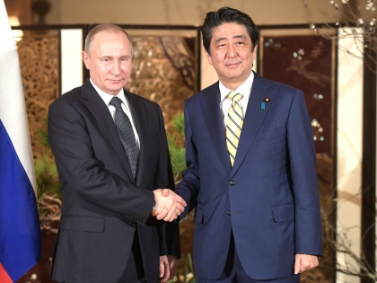 Визит президента Путина в Японию закончился подписанием многомиллиардных контрактов и новым витком обсуждения курильской проблемы // Global Look Press
