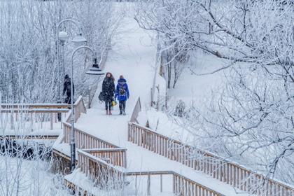 Под влиянием атлантического циклона морозы в столичном регионе ослабли // Константин Кокошкин / Global Look Press