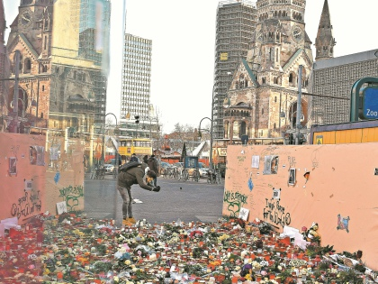 Площадь Брайтшайдплац, где был совершен декабрьский теракт // Global Look Press