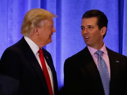 Дональд Трамп и Дональд Трамп-младший // Global Look Press