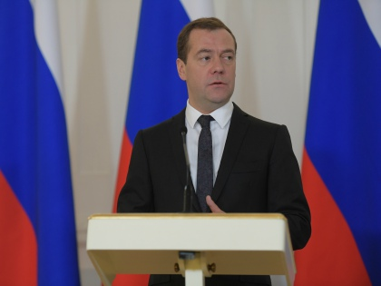 Дмитрий Медведев // Global Look Press