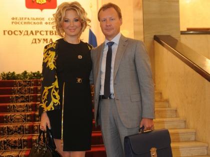 Мария Максакова и Денис Вороненков // Global Look Press