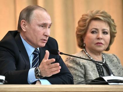 Владимир Путин и Валентина Матвиенко // Global Look Press