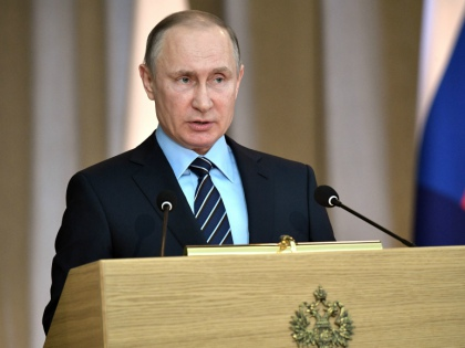 Владимир Путин на заседании коллегии Генпрокуратуры // Global Look Press