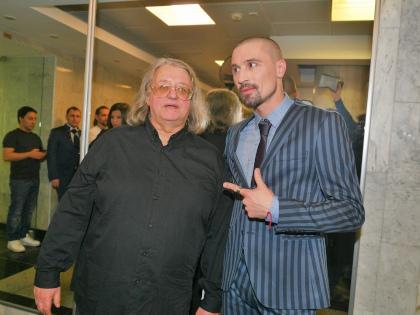 Дима Билан с Александром Градским // Global Look Press