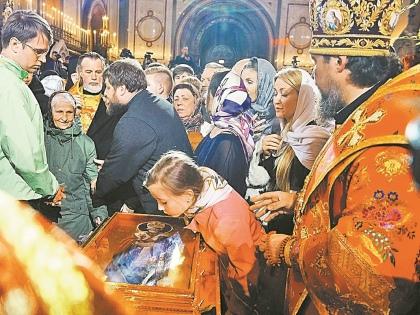 Многие верующие искренне считают, что Николай Чудотворец прогневался на Россию // Global Look Press