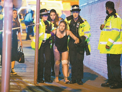 Главной целью террориста в Манчестере оказались молодые люди // Global Look Press