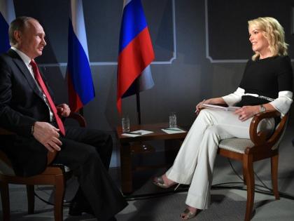 Меган Келли с Владимиром Путиным // Global Look Press