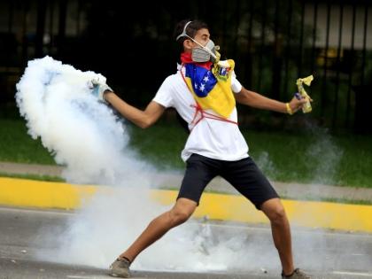 Беспорядки в Южной Америке подогреваются нищетой населения // Global Look Press