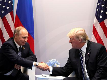 Дональд Трамп поблагодарил Владимира Путина за высылку американских дипломатов // Михаил Клементьев / Global Look Press
