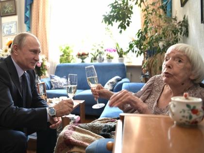 Встреча Владимира Путина с Людмилой Алексеевой // Global Look Press
