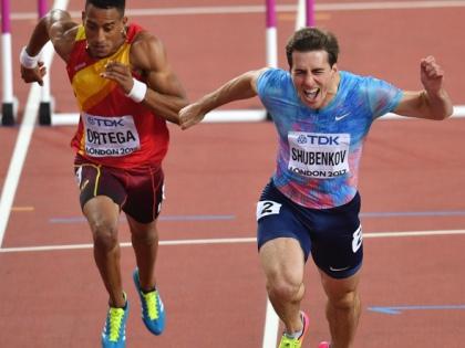 Сергей Шубенков завоевал первую (серебряную) медаль для России под нейтральным флагом // Global Look Press