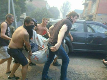 Корреспондент Sobesednik.ru выяснил, что число погибших от пожара больше одного // Global Look Press