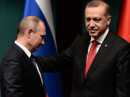 Владимир Путин и Реджеп Тайип Эрдоган // Global Look Press