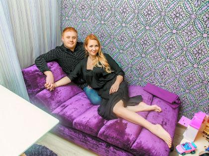 Антон Юрьев с супругой // из личного архива семьи Антона Юрьева