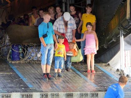 Украинские беженцы в России // Andrey Pronin/Global Look