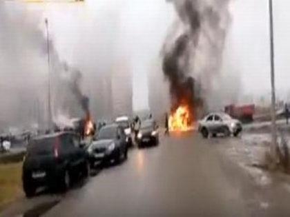 Расстрел машины полиции в Петербурге: версии ограбления // Стопкадр/Yotube