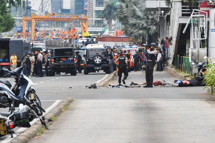 Теракт в столице Индонезии // Veri Sanovri / ZUMAPRESS.com / Global Look Press