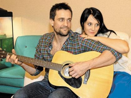 Дмитрий Миллер с женой Юлией // Анатолий Ломохов