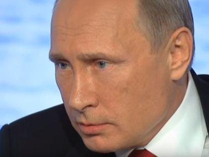 Владимир Путин на итоговой пресс-конференции // Кадр YouTube