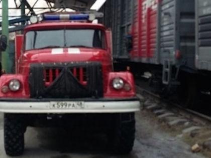 Столкновение поезда и локомотива произошло 9 апреля //  ГУ МЧС РФ по Липецкой области