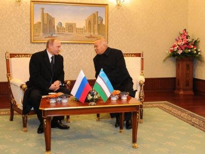 Владимир Путин и Ислам Каримов // kremlin.ru