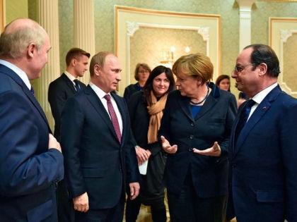 Переговоры «Нормандской четверки» в Минске // kremlin.ru
