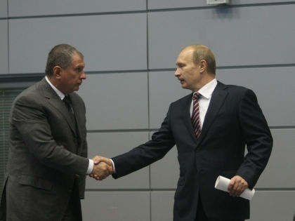 Игорь Сечин и Владимир Путин // Global Look Press