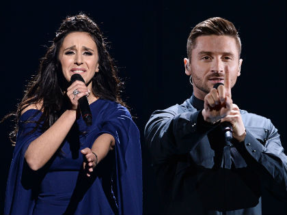 Джамала и Сергей Лазарев оказались главными соперниками на Евровидении-2016 // Global Look Press