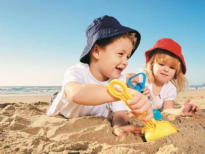Песок улучшает сон, снимает агрессию и тревогу // Shutterstock