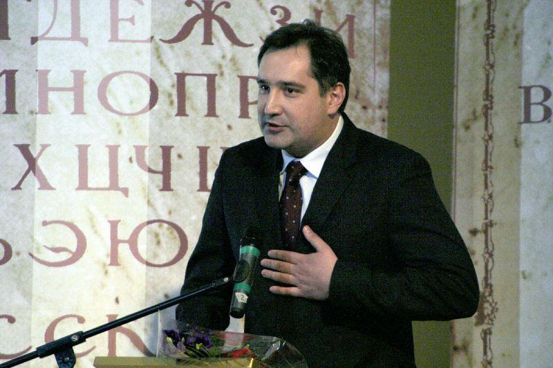 """Рогозин обвинил """"галстукопожирателей"""" в своей неопрятности // Global Look Press"""
