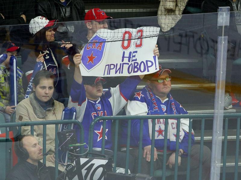 СКА выиграл серию до четырех побед, проигрывая 0:3 // Alexander Kulebyakin / Russian Look