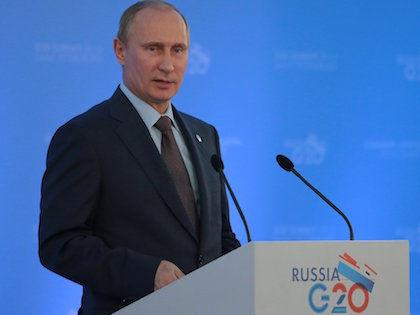 Владимир Путин на саммите G20 в России в 2013 году //  Официальный сайт G20