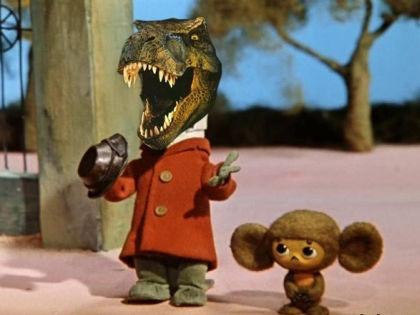 Каким бы безобидным не казался аллигатор, он живет инстинктом охотника // pinterest.com