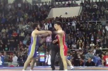 Борцы из Дагестана // Стоп-кадр YouTube