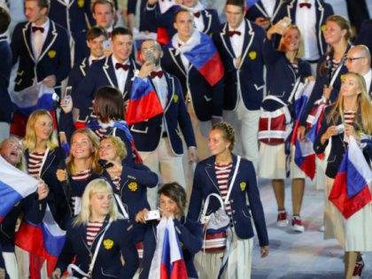 Российская сборная на Олимпиаде // Global Look Press