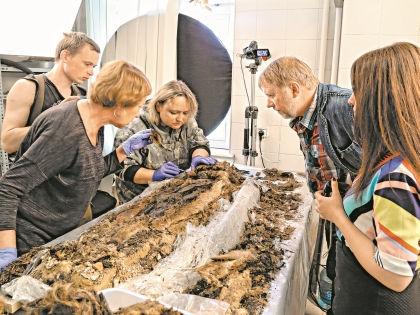 Исследование мумии мальчика с Ямала // архив