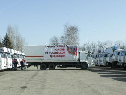 Новая гуманитарная колонна отправится на Украину уже 15 февраля // Виктория Савицкая / «Собеседник»