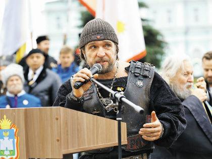 Байкер «Хирург» Залдостанов // Александр Алешкин / «Собеседник»