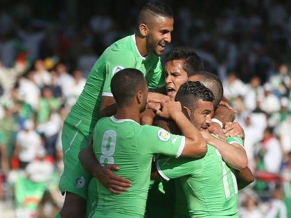 Игроки сборной Алжира по футболу // Global Look