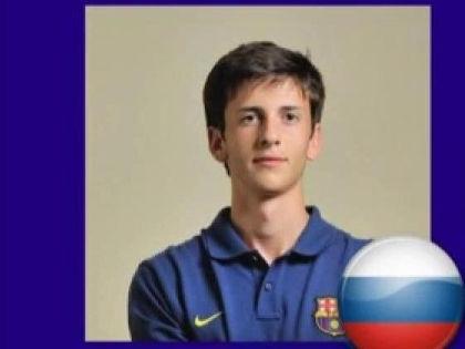 Амир Натхо выступает за юношескую команду «Барселоны» // YouTube