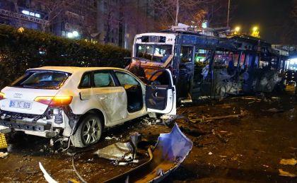 Взрыв в Анкаре: 34 погибших и 125 пострадавших // Mustafa Kaya/Global Look Press